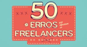 50 erros que afastam os freelancers do sucesso