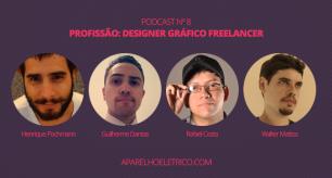 Podcast Profissão Designer Gráfico Freelancer