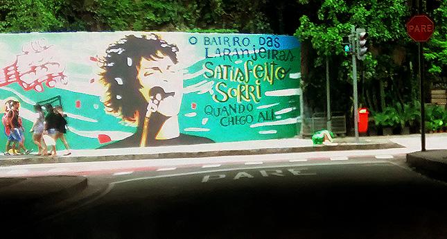 Bairro das Laranjeiras no Rio de Janeiro