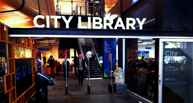 melbourne-city-library