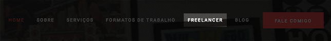 Item Freelancer no menu do meu site