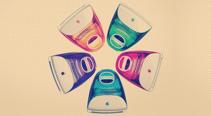 varias-cores-para-o-meso-produto-macintosh