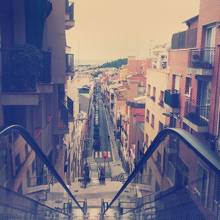 barcelona-escada-rua