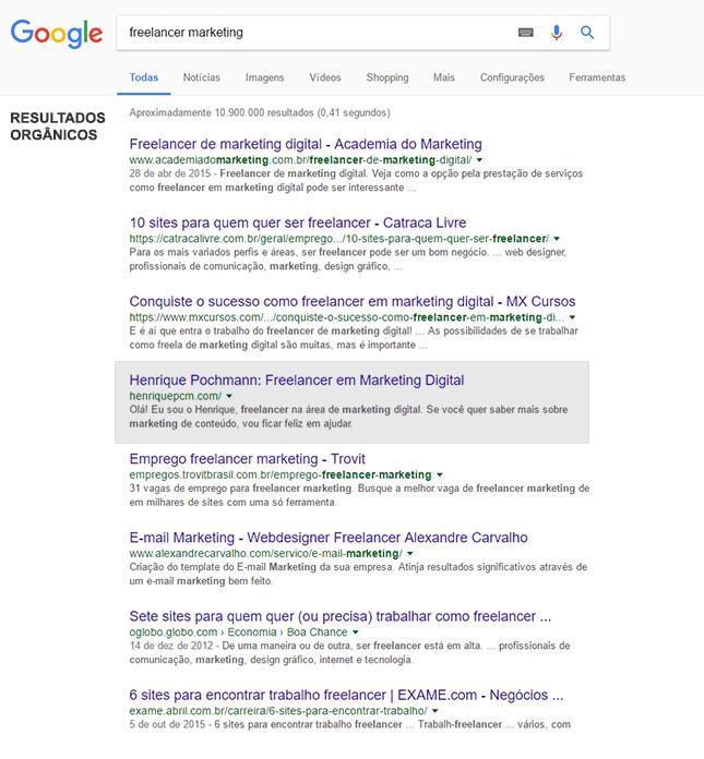 16f6d2e76 resultado de buscas no Google por freelancer marketing